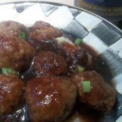 Meatballs in Cranberry and Pinot Noir Sauce recipe