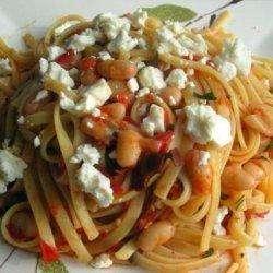 Vegetarian Bean Pasta recipe