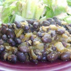 Sarasota's Spicy Simple Black Beans recipe