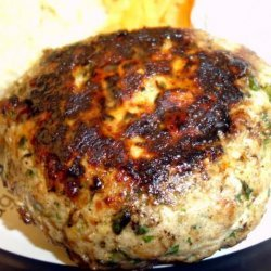 Herby Tuna Burgers With Wasabi (Low Fat and Healthy) recipe