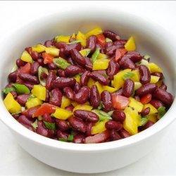 Colorful Kidney Bean Salad recipe