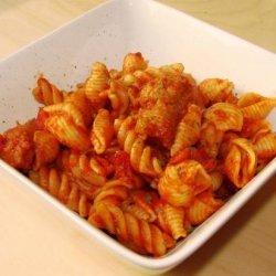 Italian Sausage Rigatoni and Peppers recipe