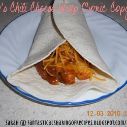 Frito's Chili Cheese Wrap, Sonic Copycat recipe