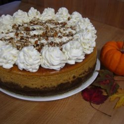 Pumpkin Cheesecake (A Cheesecake Factory Copycat) recipe