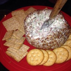 Beef and Green Onion Cheese Ball recipe