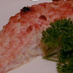 Salmon With Parmesan Crust recipe