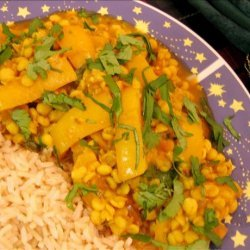 Chana Dal With Bell Pepper recipe