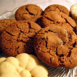 Swedish Ginger Cookies With Crystallized Ginger recipe