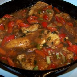 Mahogany Glazed Chicken recipe