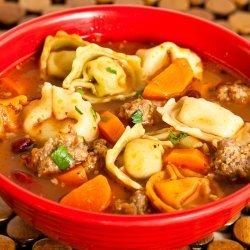 Italian Sausage and Tortellini Soup recipe