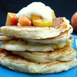 Peachy Pancakes recipe