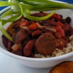 Red Beans and Rice With Sausage recipe