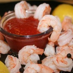 Perfect Boiled Shrimp and Cocktail Sauce recipe