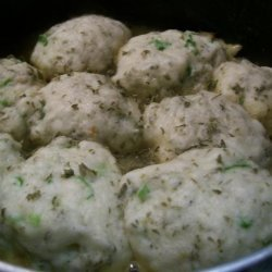 Easy Chicken Stew and Dumplings recipe