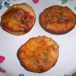 Lunch Box Pizzas recipe
