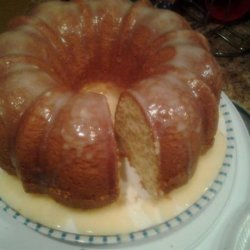 Southern Living's Cream Cheese Pound Cake recipe