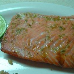 Honey 'n' Lime Glazed Salmon recipe