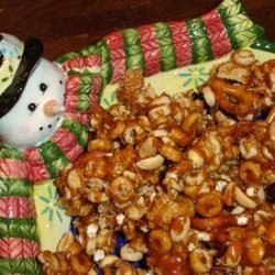 Caramel Snack Attack Mix recipe
