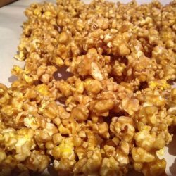 Chewy Irresistible Caramel Popcorn recipe