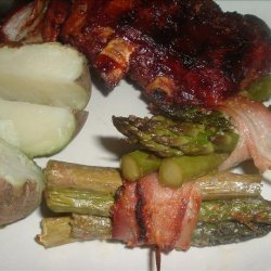 Asparagus Bundles or Green Bean Bundles recipe