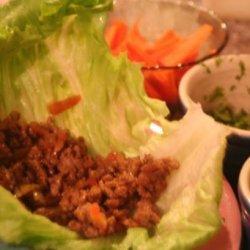 Low Calorie Thai Lettuce Wraps recipe