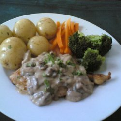Schnitzel With Mushroom Sauce recipe