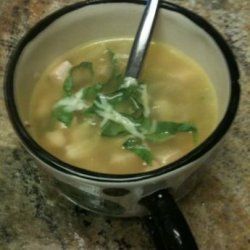 Turkey and Navy Bean Soup recipe