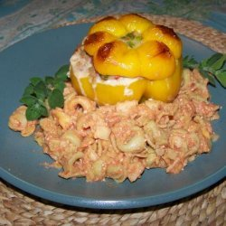 Stuffed Peppers With Tortellini recipe