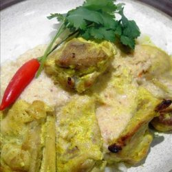 Marinated Chicken Breast With Coconut Curry Sauce recipe