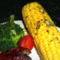Boiled Corn on the Cob With Spicy Butter recipe