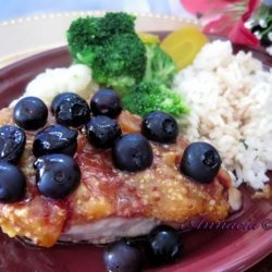 Chicken Breasts With Blueberries recipe