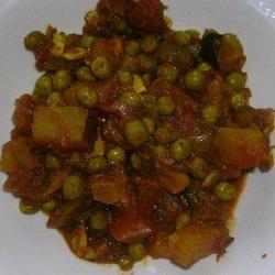 Potato and Pea Curry recipe