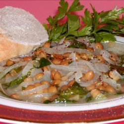 Lentil Soup With Spinach and Lemon (Ads Bi Hamud) recipe