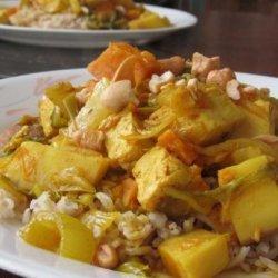 Vegetarian Panang Curry recipe