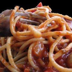 Hearty Beef Spaghetti Sauce recipe