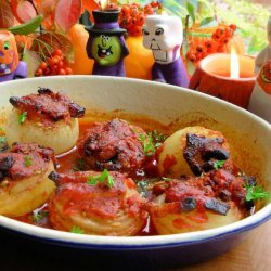Baked Onions With Dill recipe