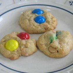 Grandma's M&ms Cookies recipe