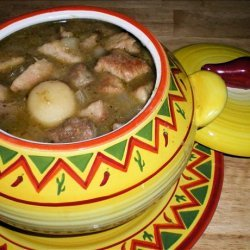 Green Chile Pork Stew recipe