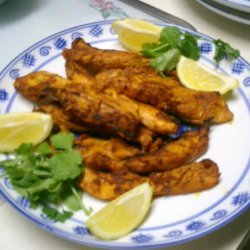Uncle Bill's Barbecue Tandoori Chicken recipe