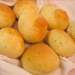 Bread Machine Butter Rolls recipe