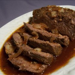 Crock Pot Beef N Beer Brisket recipe
