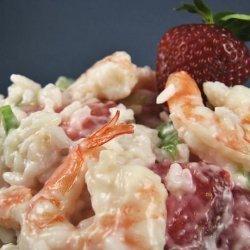 Shrimp and Strawberry Salad recipe