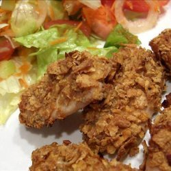 Crazy Plates Oven Fried Chicken Tenders recipe