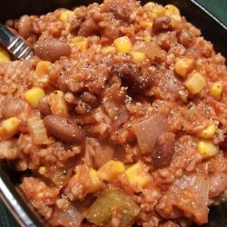 Pinto Bean Jambalaya recipe
