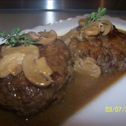 Salisbury Steak With Mushroom Gravy recipe