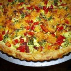 Potato & Vegetable Quiche (No Pastry) recipe