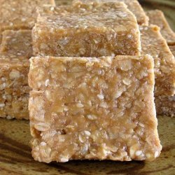 Unbaked Peanut Butter and Honey Bars recipe