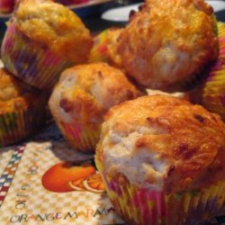 Apple and Cheddar Cheese Muffins recipe