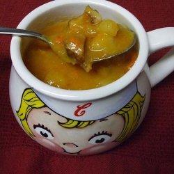 Potato Cabbage Soup With Ham recipe