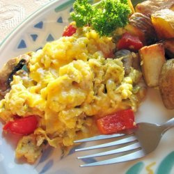 Mexi Egg Scramble Skillet recipe